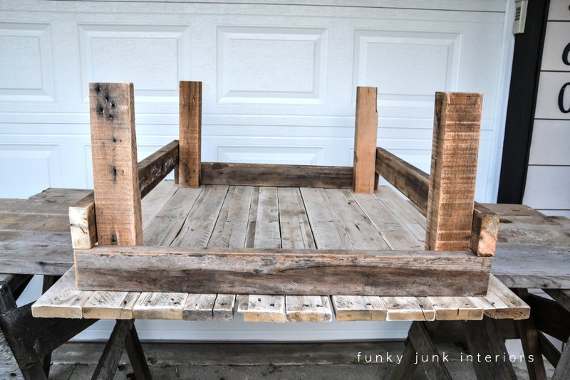 Ordinaire Junk Styled Pallet Wood Coffee Table, By Funky Junk Interiors