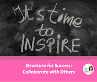 collaborate with others to manage behavior