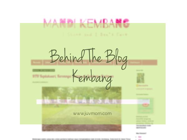 Behind The Blog Mandi Kembang
