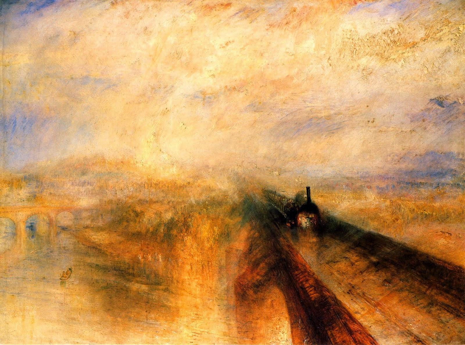 pioggia, vapore e velocità