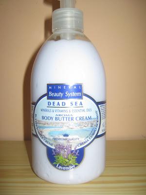 Mineral Beauty System - Telový maslový krém - Levanduľa
