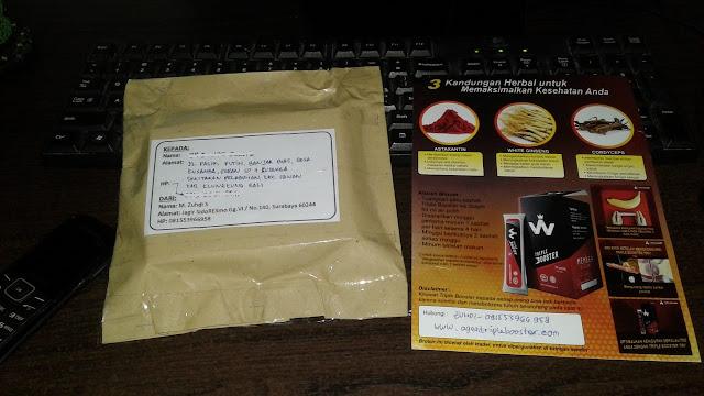 Foto-Foto Bukti Pengiriman Paket Obat Kuat TripleBooster