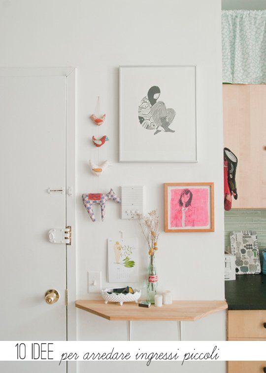 10 idee per arredare ingressi piccoli home shabby home for Idee seminterrato per piccoli scantinati