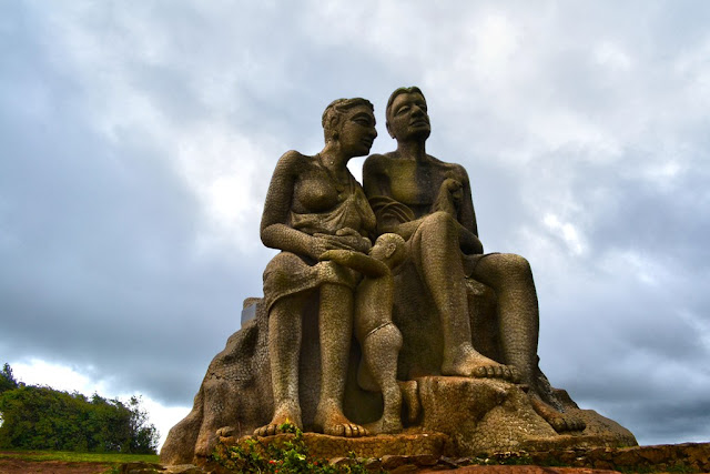 Sculpture on top of Ramakkalmedu - Munnar, Kerala - Pick, Pack, Go