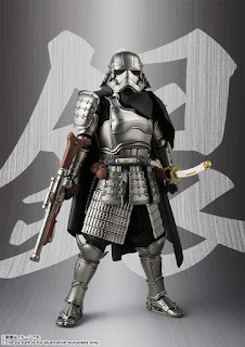 "Mei Sho Movie Realization Ashigaru Daisho Captain Phasma de ""Star Wars"" - Tamashii Nations"