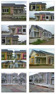 contoh rumah bukit cimanggu city
