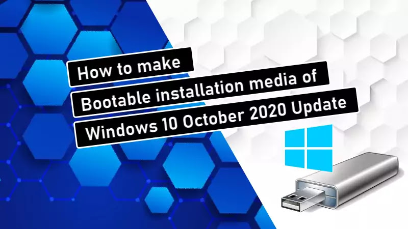 5 simple steps to create Windows 10 bootable USB drive