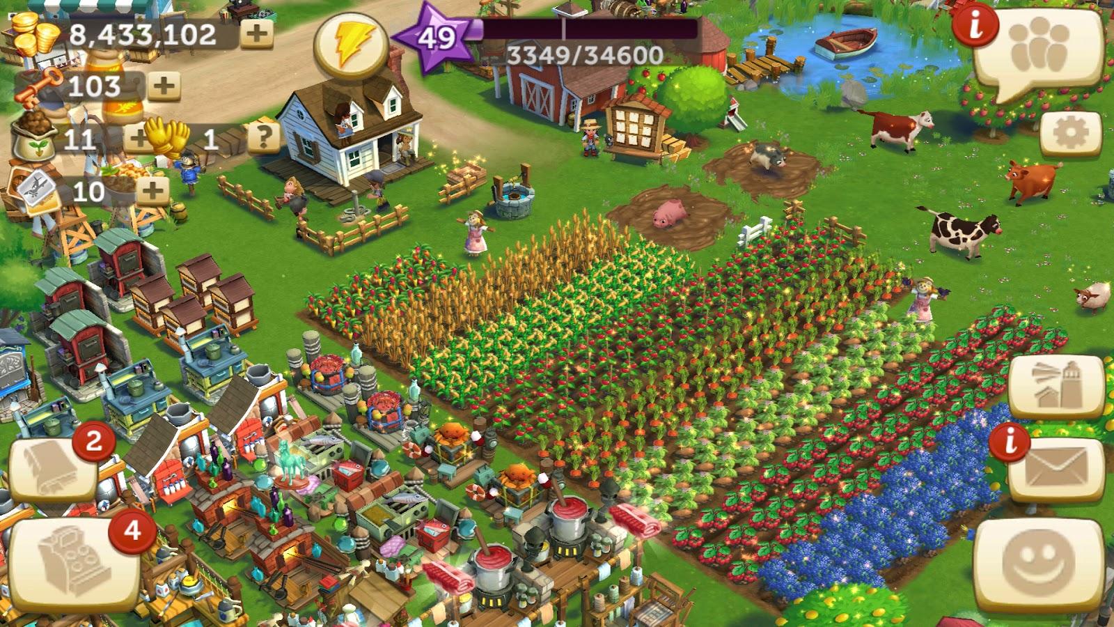 تحميل لعبة FarmVille 2 Country Escape v13.2.4543 مهكرة كاملة للأندرويد -  وحش التقنية / العاب وتطبيقات الاندرويد المهكرة مجانا