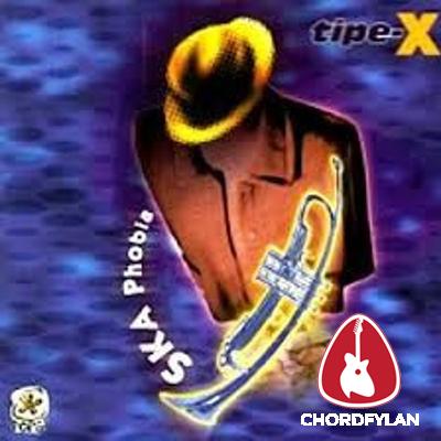 Lirik dan Chord Kunci Gitar Angan - Tipe X