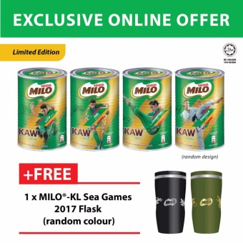 Milo Kaw Free Milo KL SEA Games 2017 Flask