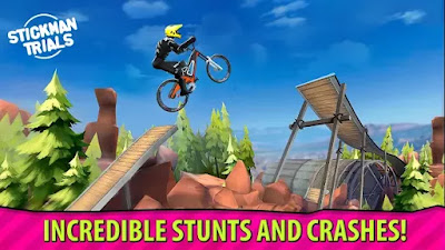 screenshot: Stickman Trials for Android