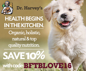 Dr. Harvey's Ambassador badge to save 10% with code BFTBLOVE16