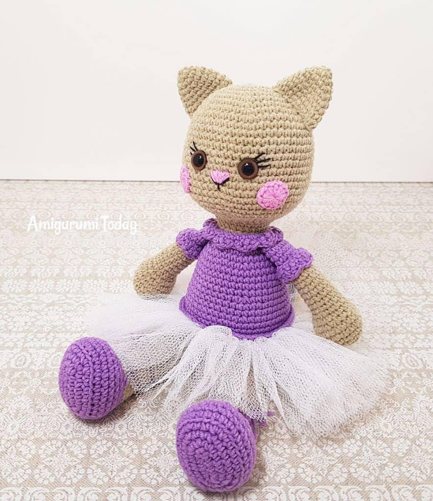 Ballerina Amigurumi Free Crochetpattern Ballerina Pop Gratis