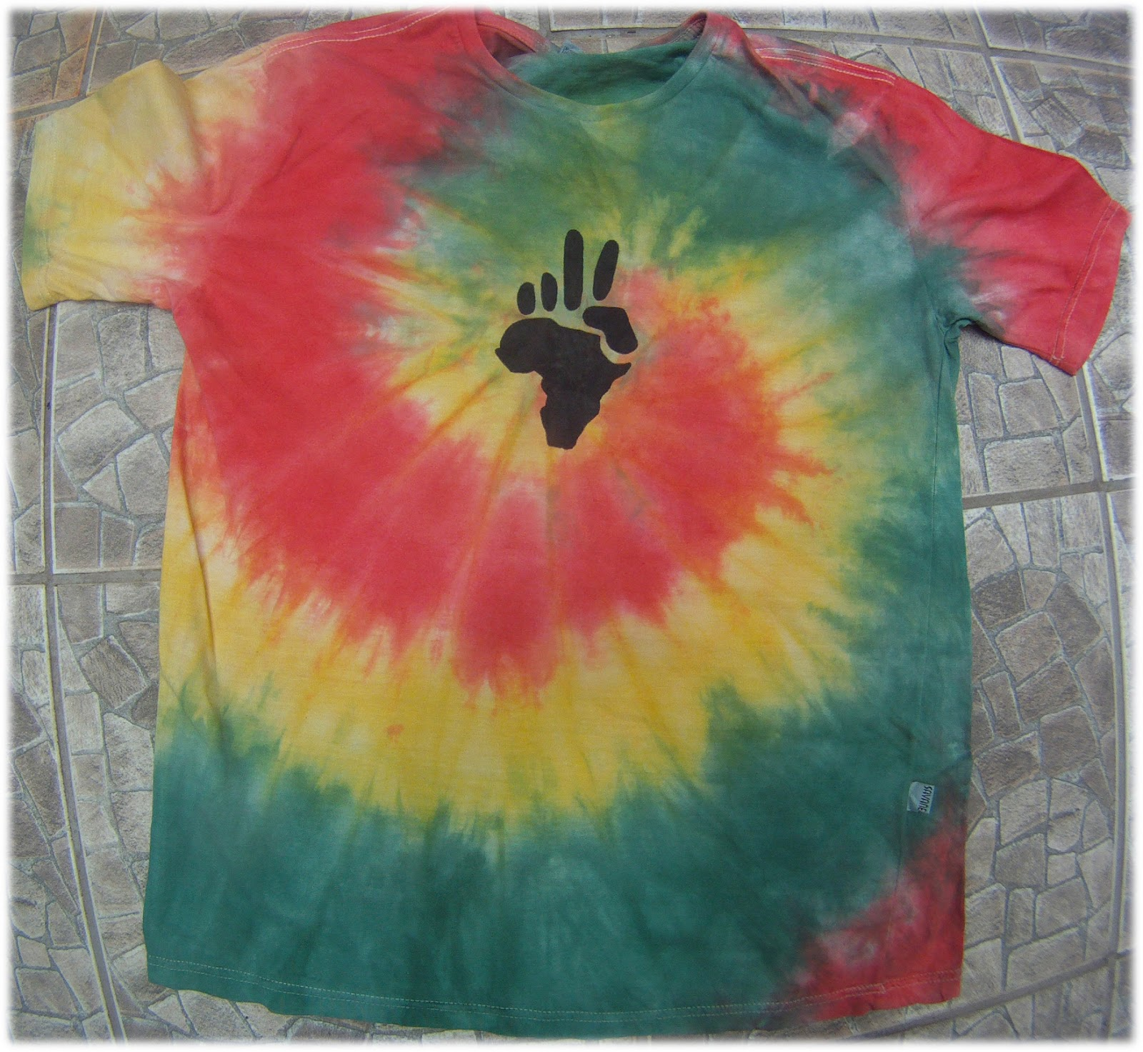 c3910f3961 tie dye espiral peace africa - camisetas tie dye