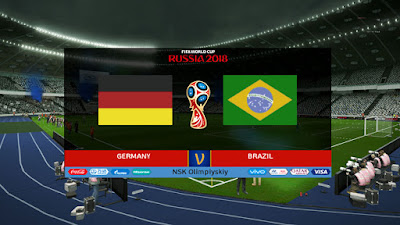 PES 2013 Scoreboard Official FIFA World Cup 2018 Russia