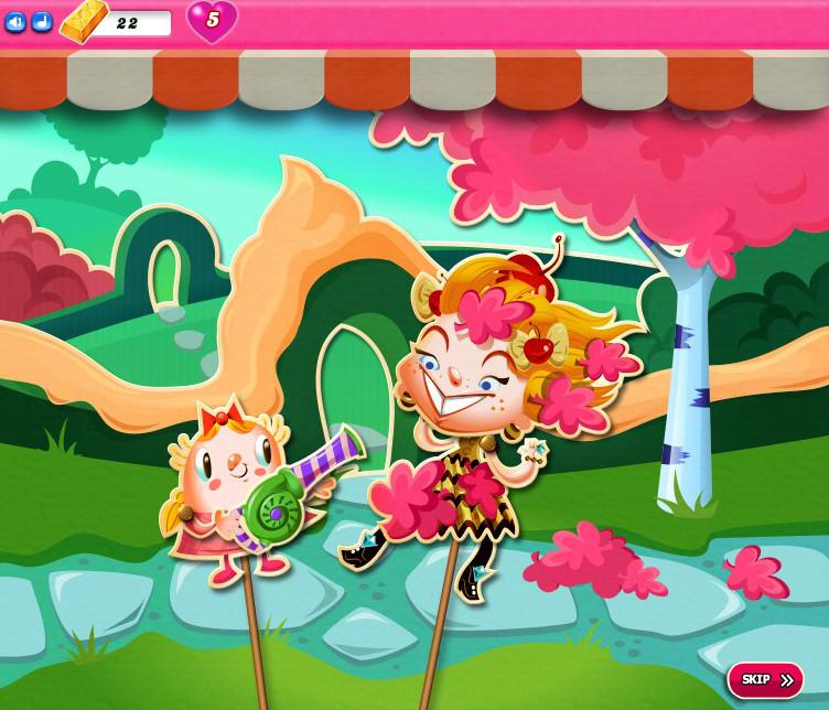 Candy Crush Saga level 2331-2345