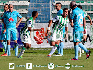 Oriente Petrolero - Festejo del gol de Hugo Souza - DaleOoo