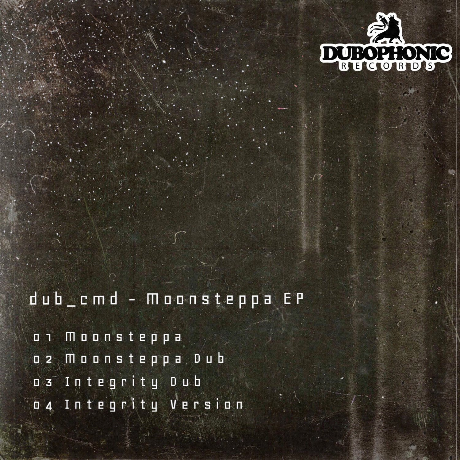 dub cmd - Moonsteppa / Dubophonic Records 2019