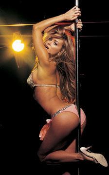 Theme.... stripper pole aerobics remarkable, rather