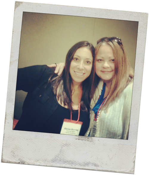 Alyssa (Everyday Maven) and Heather (All Roads Lead to the Kitchen) - Seattle, Sept. 2014