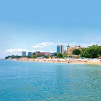 Summer Beach resort of Golden Sands