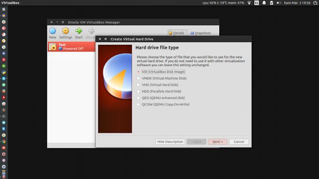 4. Hard Drive file type