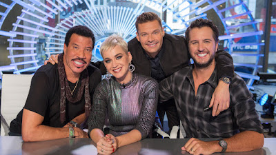 Lionel Richie, Katy Perry, Ryan Seacrest e Luke Bryan - Divulgação