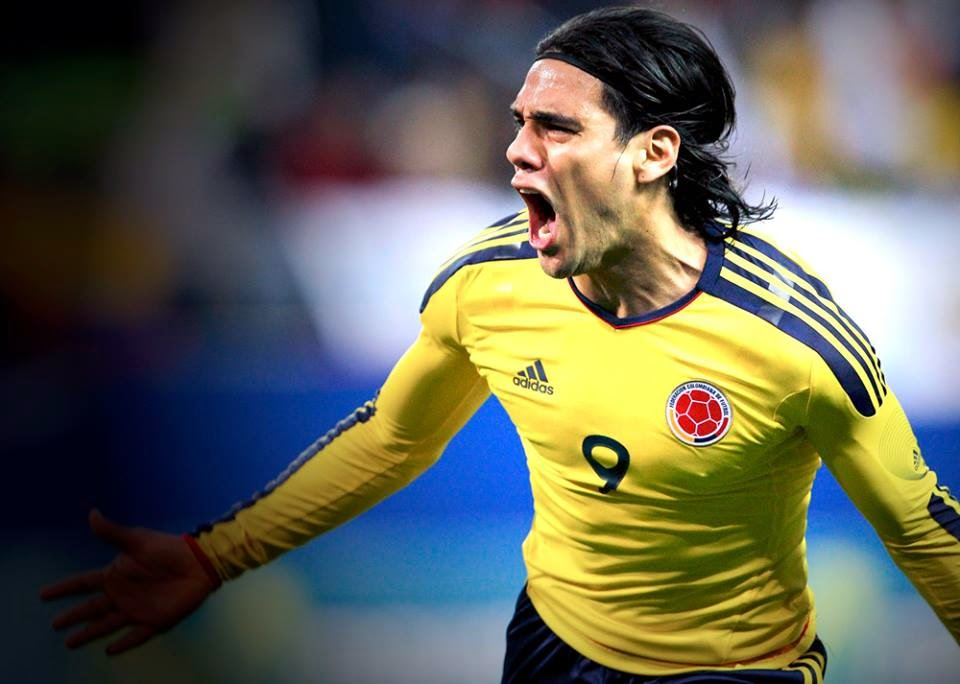 Colombia's luckless superstar, Radamel Falcao.