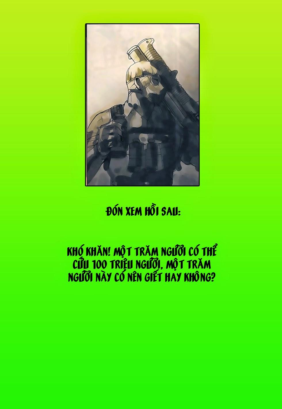 Đại Quân Phiệt chap 51: trận cuối của đại tổng thống trang 33