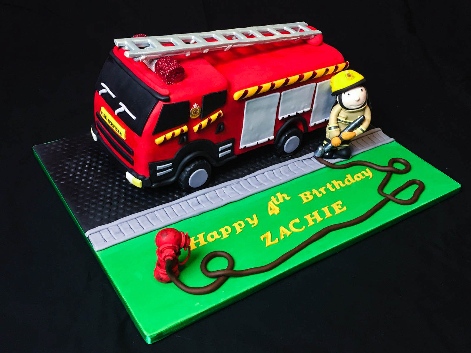 Baking Maniac HK Police Car and Fire Engine
