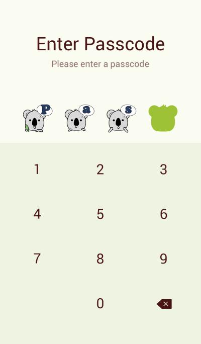Talkative koala