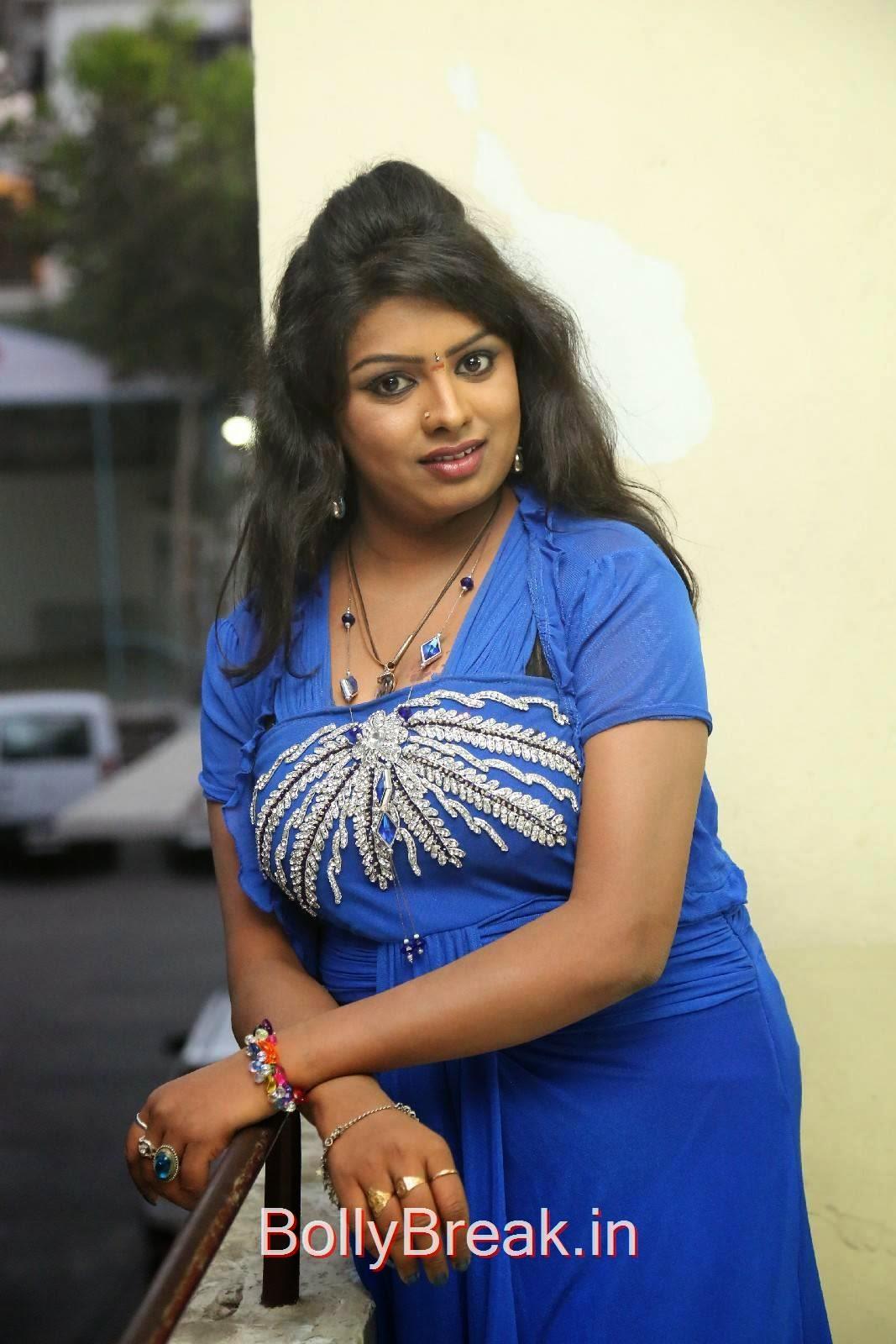 Sridevi Stills in Blue Dress, Sridevi Hot Pics In Blue Dress Romantic Target Movie Teaser Launch