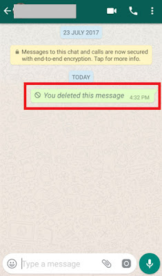 how to delete a whatsapp message for everyone