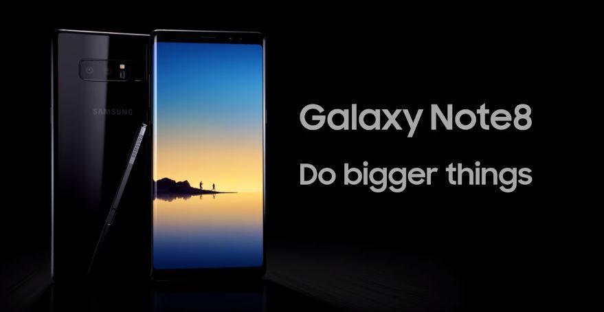 Canzone Samsung Pubblicità Fai le cose in grande con Galaxy Note8, Spot Settembre 2017