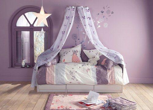 Déco chambre bébé fille papillon