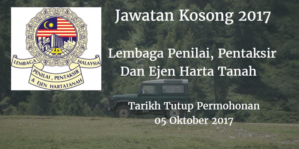Jawatan Kosong LPPEH 05 Oktober 2017