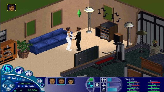 Download The Sims 1 PC Games Gameplay