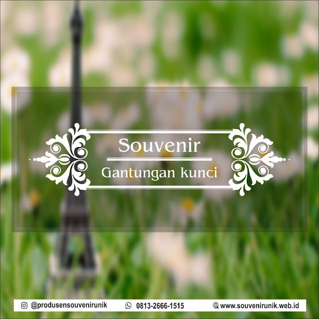 harga souvenir gantungan kunci, 0813-2666-1515