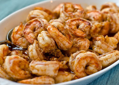 SWEET GARLIC SHRIMP