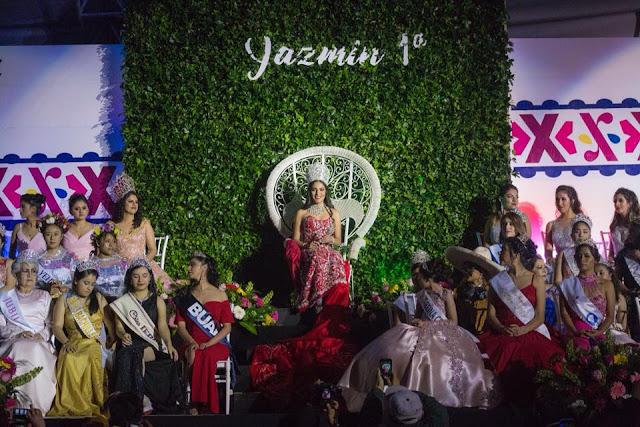 Coronación de Yazmín 1a y Emmanuel