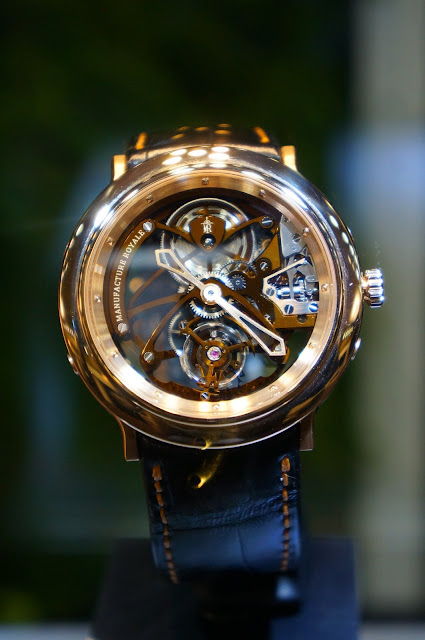 Manufacture Royale 1770 Flying Tourbillon Squelette