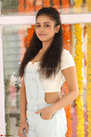Mishti Chakraborty in lovely Jumpsuit and crop top at Wings Movie Makers Production No 1 movie launch ~  Exclusive 59.JPG