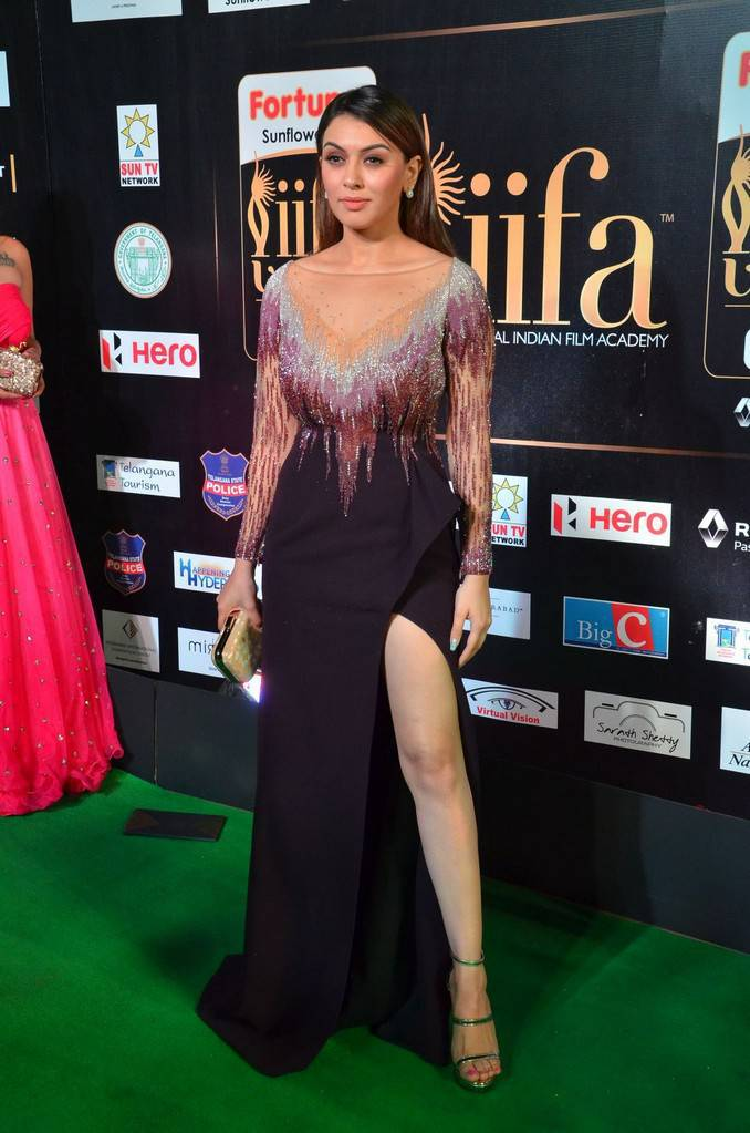 Actress Hansika Images At IIFA Utsavam Awards 2017