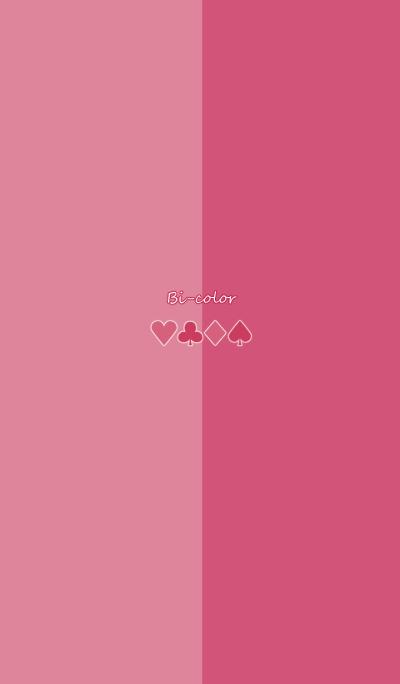 Bi-color -Pink & Pink-