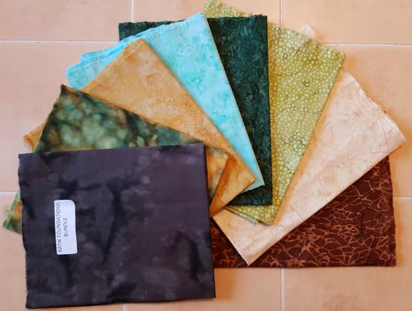 Island Batik Foundations | DevotedQuilter.blogspot.com