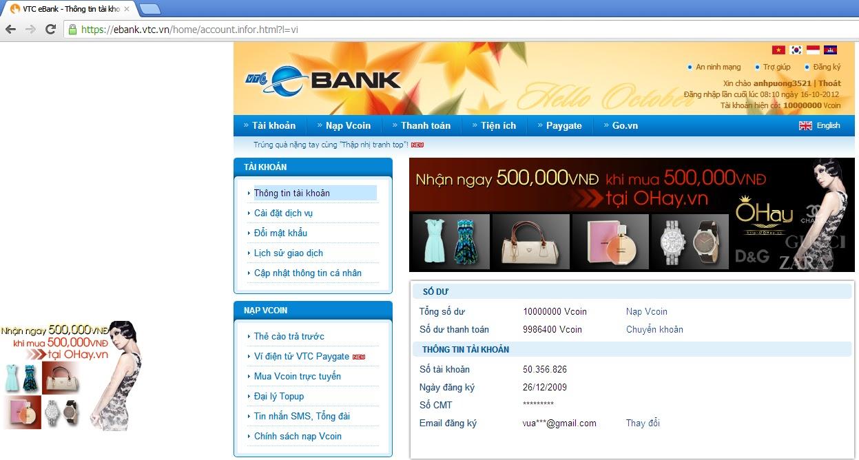 BAN VCOIN VTC SLL GIA RE BAT NGO 20k = 1000vc 50k = 4000vc 100k = 15000vc
