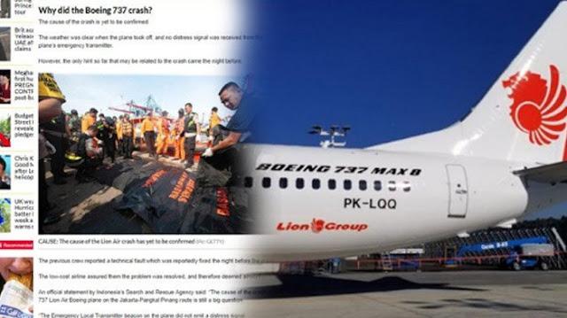 Tragedi Lion Air JT 610 Disorot oleh Media Asing, Bahas Catatan Kecelakaan hingga Keluarga Pilot
