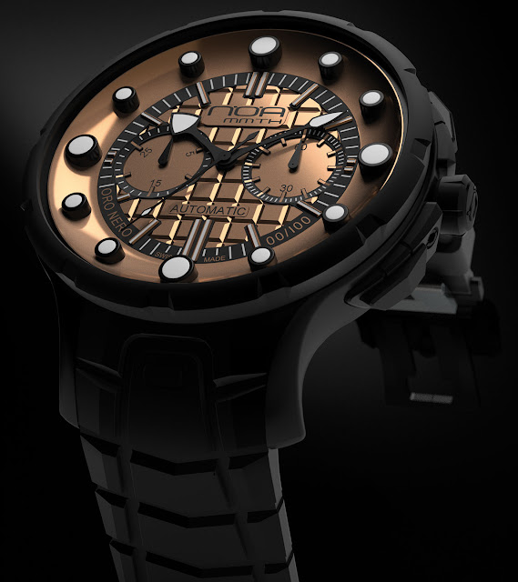 N.O.A Oro Nero Watch