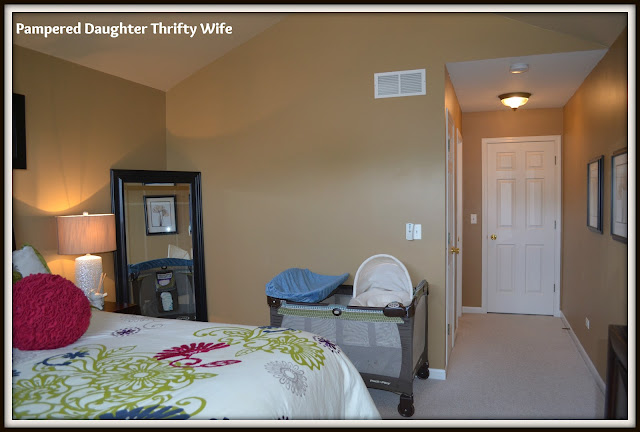 Pampered Daughter Thrifty Wife Townhome Tour Master Bedroom