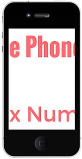 Mobile Phone Prefix Nos.